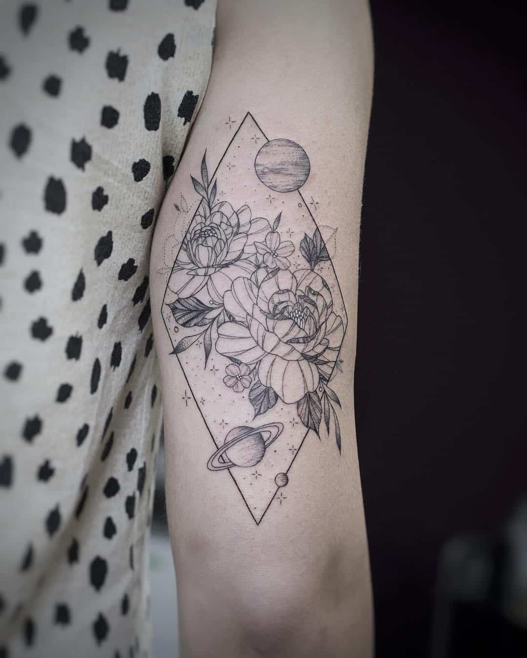 Fine line tattoo by Jessica Joy