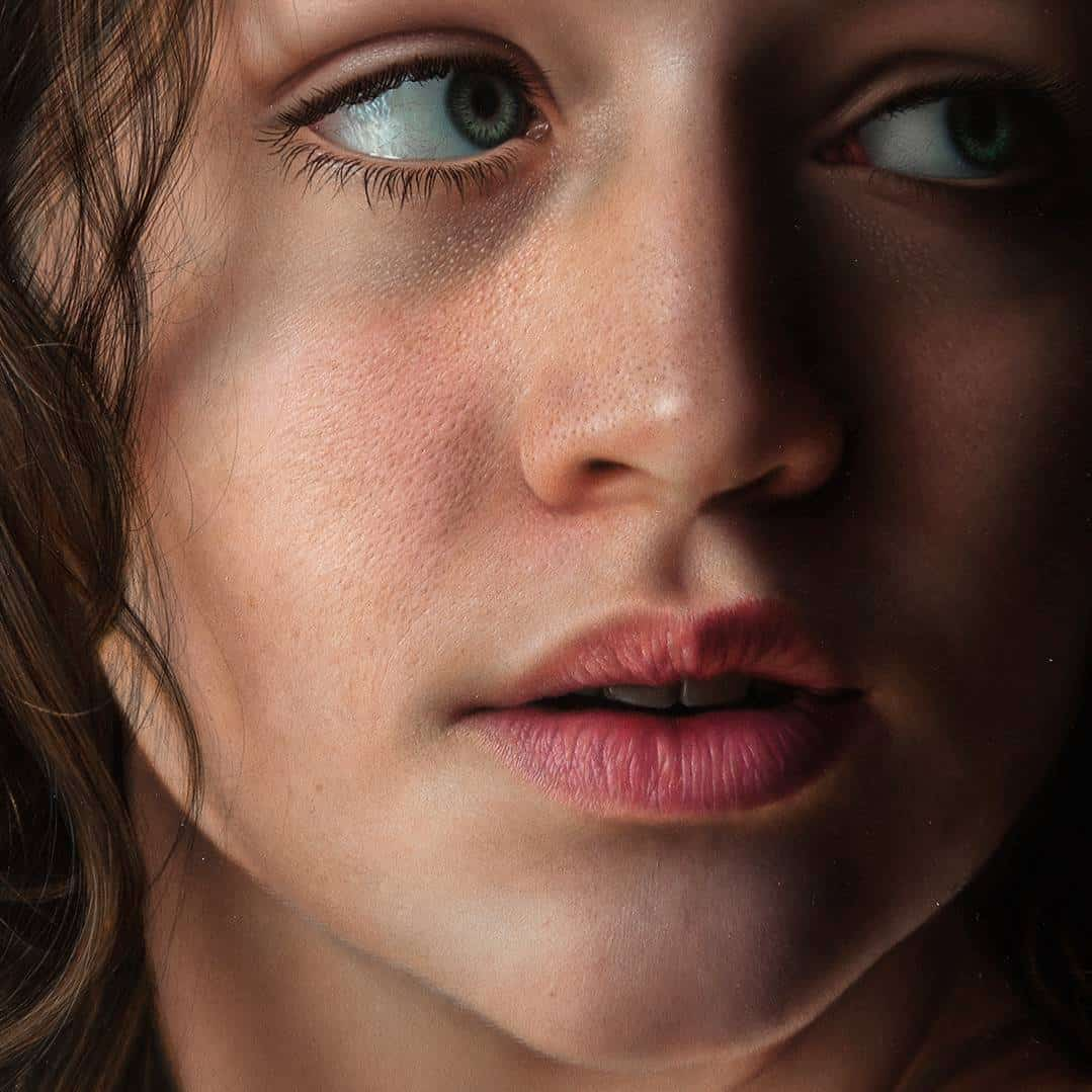Oil Painting Hyperrealism