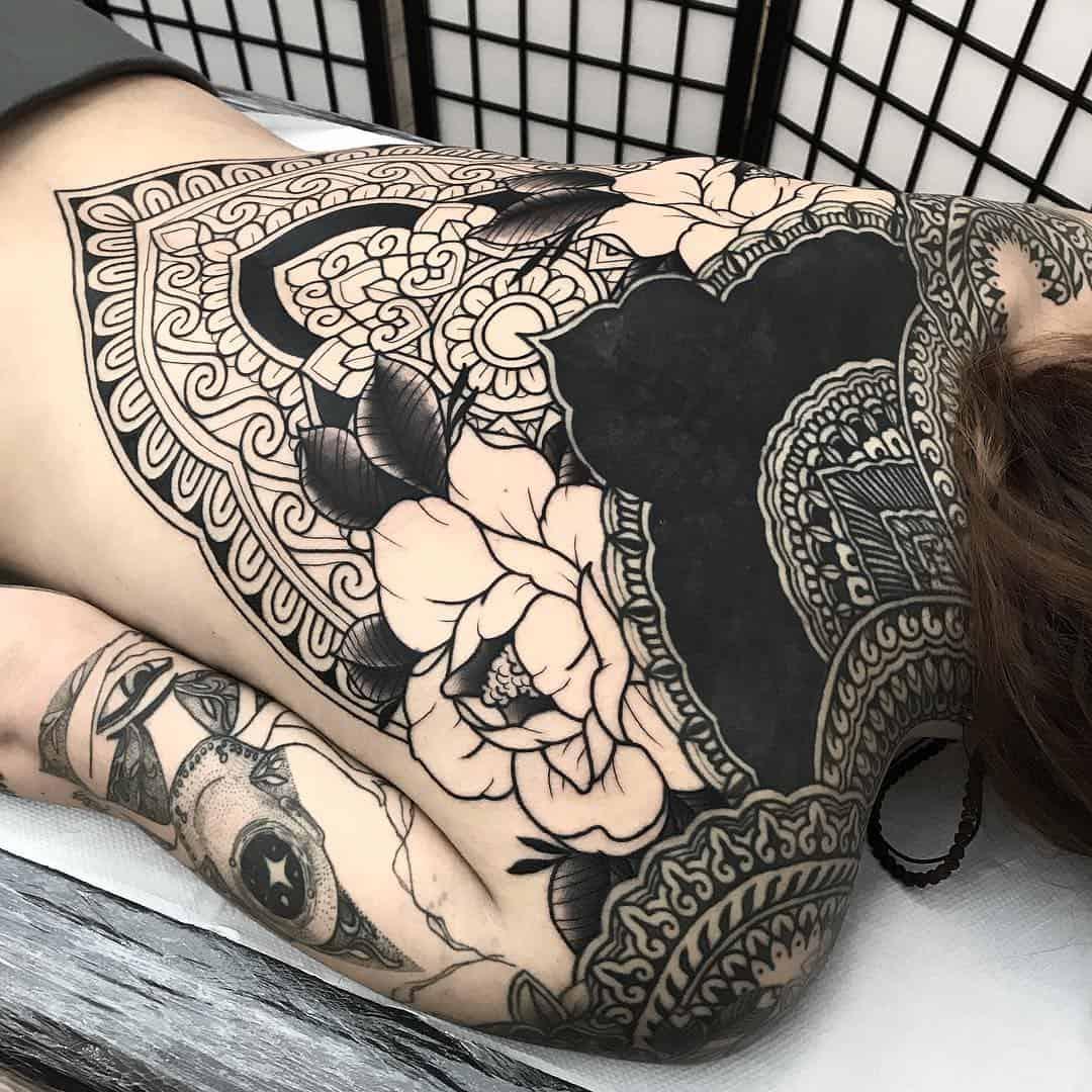 ornamental tattoo artist
