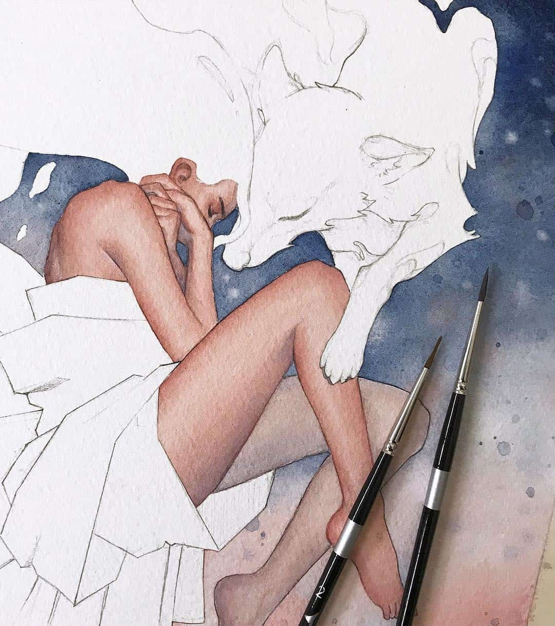 Watercolor Artist Kelogsloops